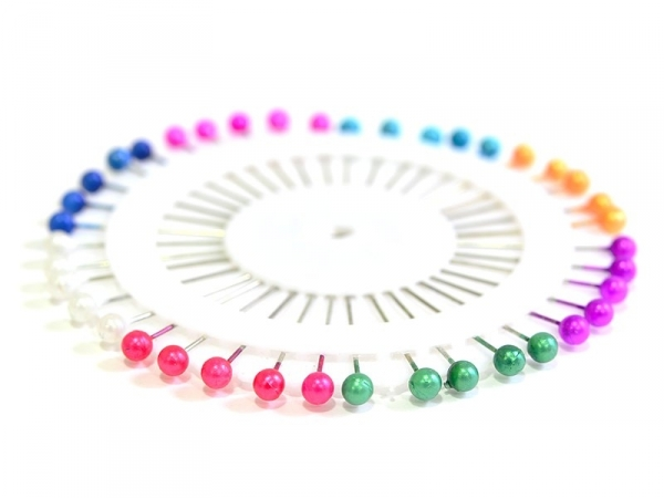 Assortment of 40 beautiful and colourful pins