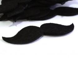 Acheter Moustache en feutrine - 8 cm - 0,29€ en ligne sur La Petite Epicerie - 100% Loisirs créatifs