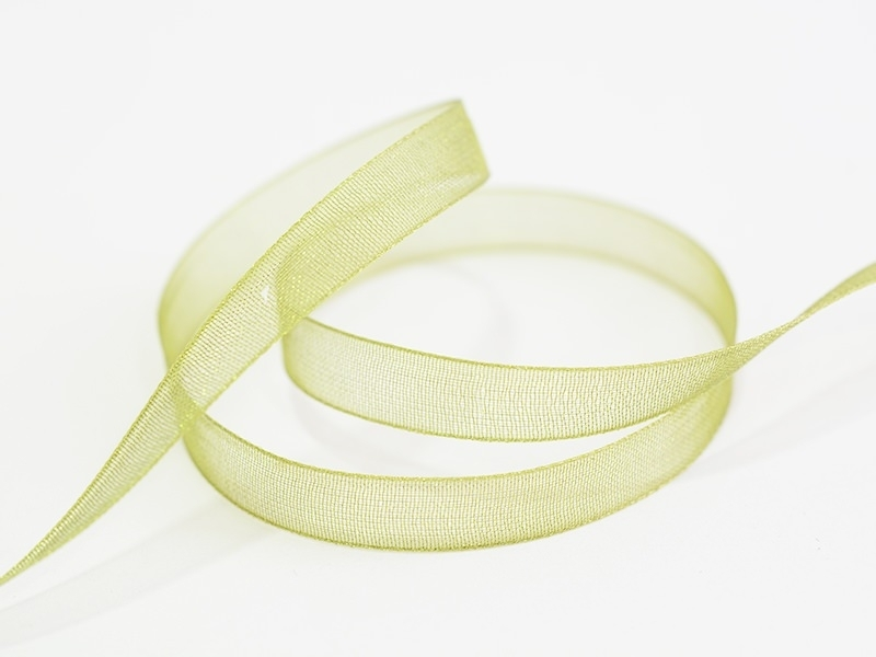 Acheter 1 m de ruban organza 6 mm - vert olive - 0,39€ en ligne sur La Petite Epicerie - 100% Loisirs créatifs