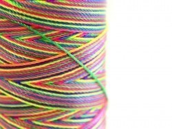 Bobbin with nylon thread in different neon colours, 1 mm - 180 m