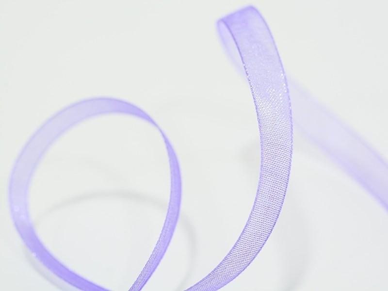 Acheter 1 m de ruban organza 6 mm - violet - 0,39€ en ligne sur La Petite Epicerie - 100% Loisirs créatifs