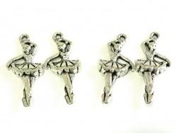 Acheter 1 Breloque danseuse / ballerine - argentée - 0,69€ en ligne sur La Petite Epicerie - 100% Loisirs créatifs