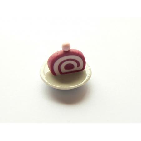 Round plate - 2 cm