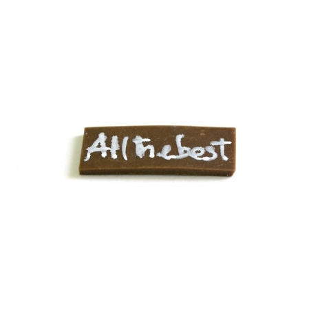 """1 Plaque """"All the best"""""""