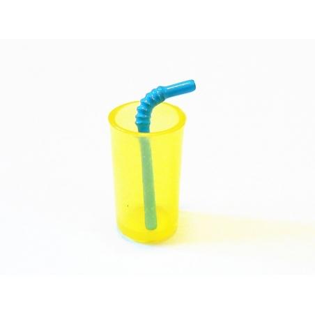 Mini Drinking Glass - yellow