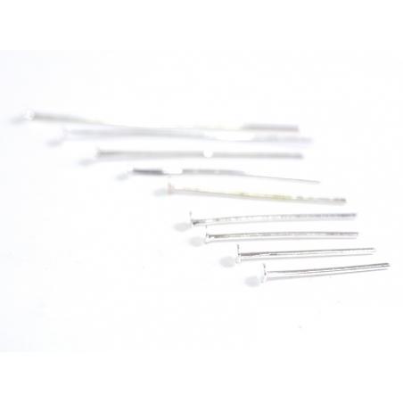 Acheter 900 clous - couleur argent clair à tête plate - 9 tailles différentes - 5,99€ en ligne sur La Petite Epicerie - Lois...