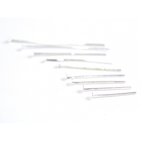 900 pins - silver-coloured head pins - 9 different sizes