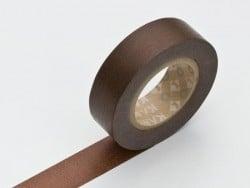 Masking tape uni - chocolat