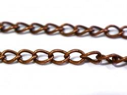 Acheter Chaine gourmette 5 mm - cuivre x 20 cm - 0,49€ en ligne sur La Petite Epicerie - Loisirs créatifs