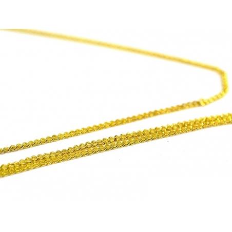 Acheter Chaine gourmette 1mm couleur or x 20 cm - 0,39€ en ligne sur La Petite Epicerie - 100% Loisirs créatifs