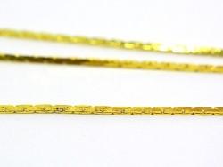 Acheter Chaîne serpentine 0,6 mm dorée x 20 cm - 0,49€ en ligne sur La Petite Epicerie - Loisirs créatifs