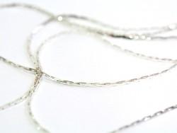 Acheter Chaîne serpentine 0,6 mm couleur argent x 20 cm - 0,49€ en ligne sur La Petite Epicerie - Loisirs créatifs