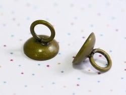Acheter 1 pendentif pour cloche en verre - couleur bronze - 0,89€ en ligne sur La Petite Epicerie - 100% Loisirs créatifs