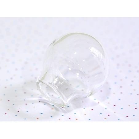 Acheter 1 bulle en verre 20 x 22 mm - pour création de bijoux - 3,20€ en ligne sur La Petite Epicerie - Loisirs créatifs