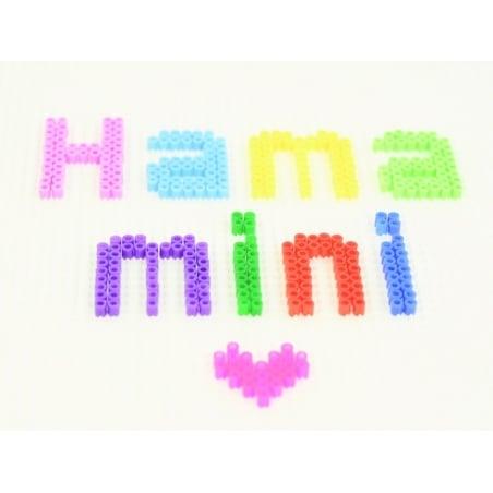 Sachet de 2000 perles HAMA MINI - rose pastel 48
