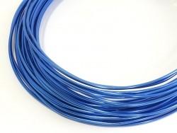 10 m of aluminium wire - dark blue