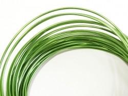 10 m Aluminiumdraht - dunkelgrün
