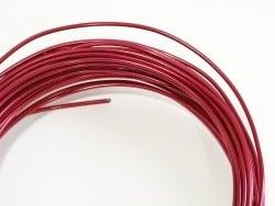 10 m de fil aluminium - rose fushia