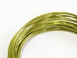 10 m Aluminiumdraht - hellgrün