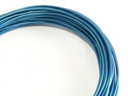 10 m of aluminium wire - light blue