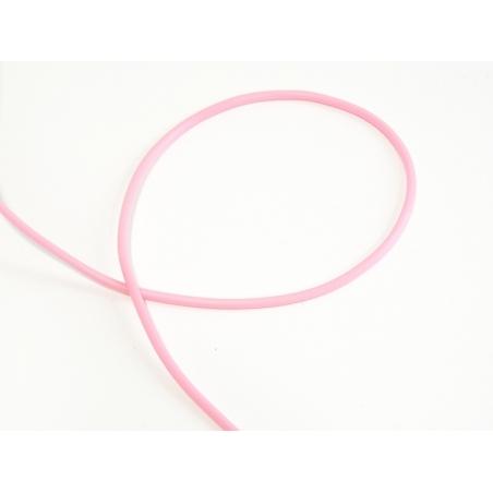 Acheter 1 m de fil scoubidou en caoutchouc plein - rose fluo - 0,49€ en ligne sur La Petite Epicerie - Loisirs créatifs