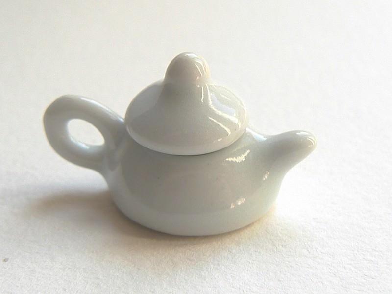 Théière miniature en céramique  - 1