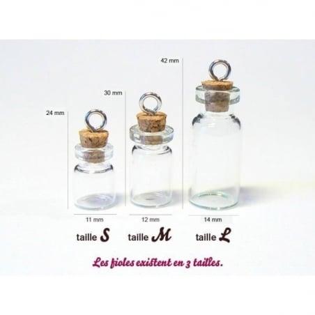 Acheter 1 fiole en verre 2,8 cm - 0,99€ en ligne sur La Petite Epicerie - 100% Loisirs créatifs
