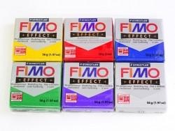 Fimo - glitter weiß Nr. 052