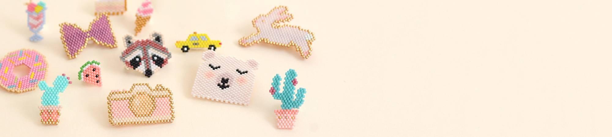 Perles Miyuki delicas