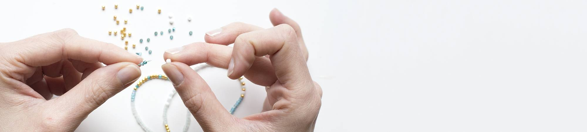 Perles de rocailles à Inclusions argentées
