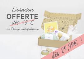 livraison offerte en France métropolitaine