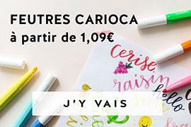 feutres carioca pour les petits